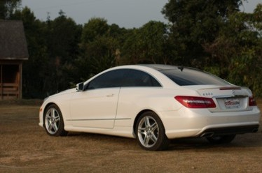 Mercedes Benz E550 Coupe V8 2011